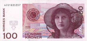 Norvegijos kronos kursas bankuose
