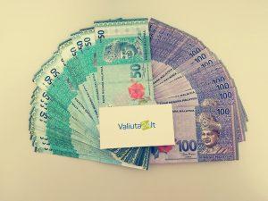 Malaizijos valiutos kursas. Ringito kursas MYR