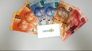 Pietų afrikos valiuta ZAR. Pietų afrikos randas