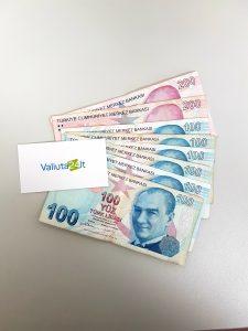 Turkijos lira THB. Turkijos valiuta kursas