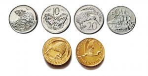Zelandijos dolerio kursas. Naujosios zelandijos monetos