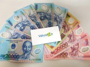 vietnamo valiua dongas DNG
